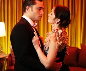 gossip girl, blair waldorf, and chuck bass image