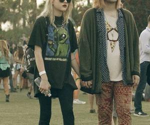 grunge, couple, and style image