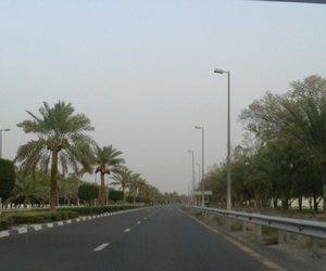 abu dhabi, street, and UAE image