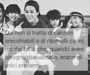 frasi, bts, and bangtan boys image