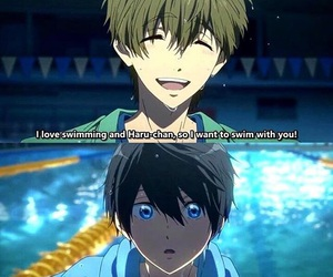 free, makoharu, and free starting days image
