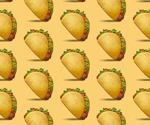 pattern, tacos, and wallpaper image