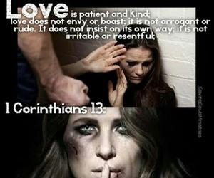 abuse, christian, and love image