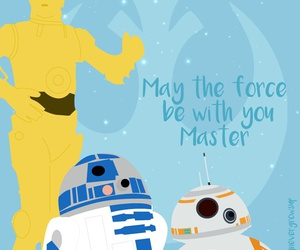 C-3PO, star wars, and droids image