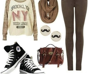 black, brown, and converse image