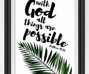god, possible, and WITH image