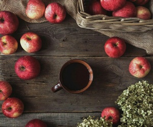 autumn, fall, and apple image