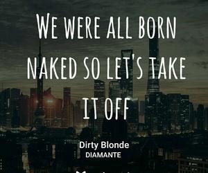 bad girl, diamante, and blonde image