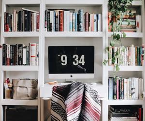 book, design, and desk image