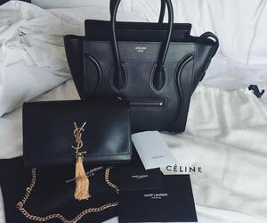 fashion, celine, and YSL image