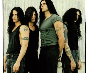 type o negative, long haired men, and gothic metal image