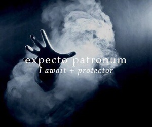 harry potter, expecto patronum, and spell image