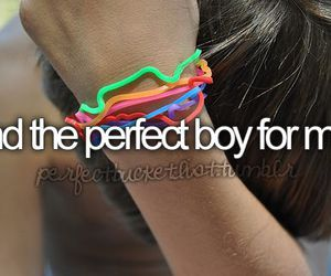 boy and perfect image