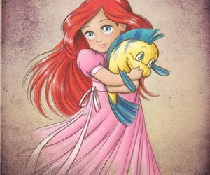 ariel, fairy_tale, and pribcess image