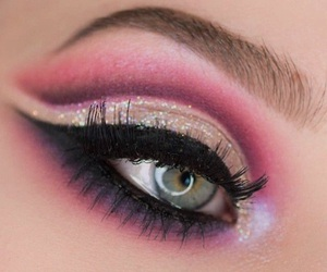 eye, inspiration, and make up image
