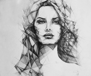 drawing, girl, and amazing image