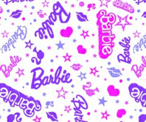 barbie and wallpaper image