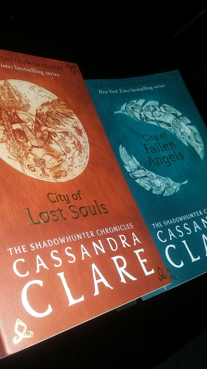 the mortal instruments, cassandra clare, and city of fallen angels image