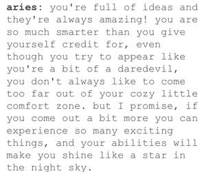 advice, aries, and me image