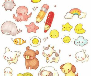 cute, doodles, and kawaii image