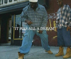 biggie smalls, hip hop, and rap image