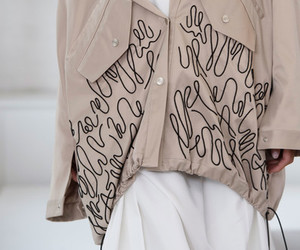 catwalk, detail, and fashion image