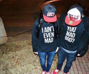 couples, you mad bro, and love image