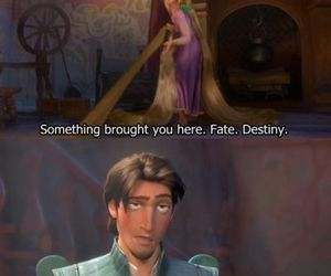 tangled, funny, and disney image