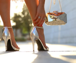blogger, clutch, and fashion image