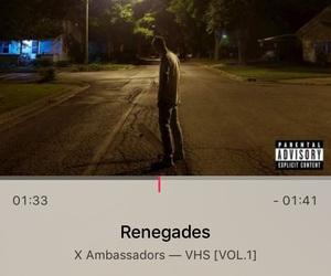 x ambassadors, alternative, and apple image