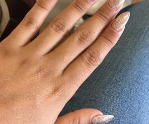 glitters, nail, and spa image