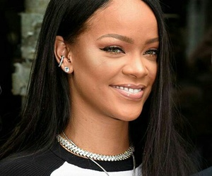 beautiful, rihanna, and smile image