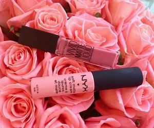 cosmetics, Maybelline, and NYX image