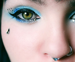 piercing, pretty, and Suicide Girl image