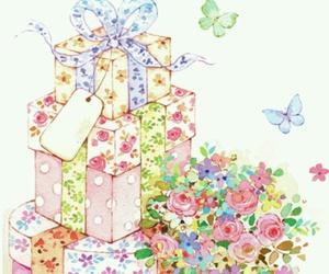birthday, present, and wish image