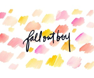 desktop, fall out boy, and pink image