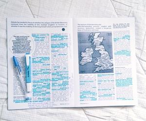 books, motivation, and studying image