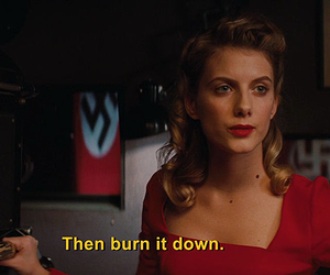 melanie laurent, inglourious basterds, and movie image