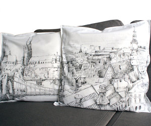 etsy, pillowcase, and city picture image