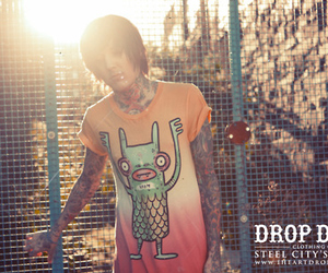 drop dead and tattoo image