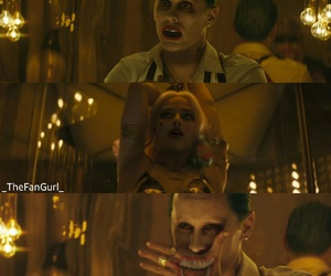 joker, movie, and harleyquinn image