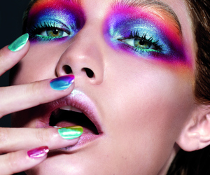 beauty, eyes, and Maybelline image
