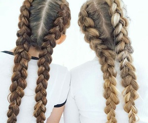 friends, hairstyle, and hair image