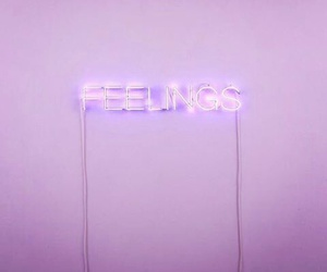 feelings, purple, and light image