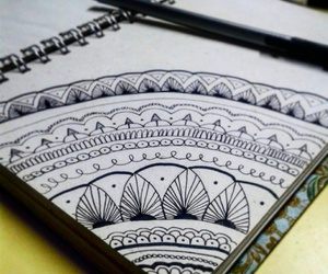black, draw, and inspire image