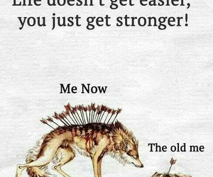 strong, life, and quotes image