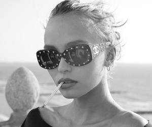 model, lily rose depp, and chanel image