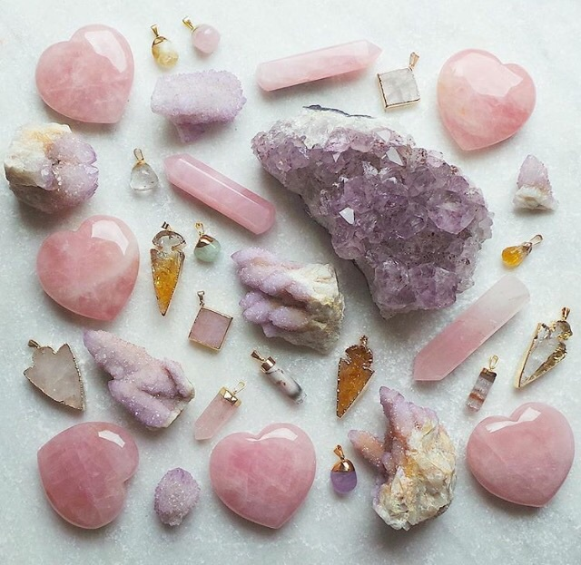 crystals, precious, and rocks image