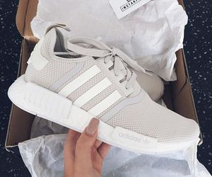 adidas, chic, and nails image