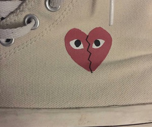 converse, heart, and tumblr image